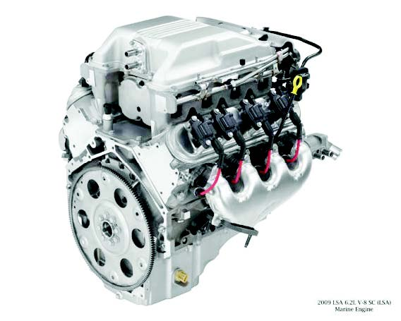 L Lsa on Ford V6 Performance Crate Engines